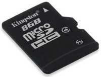 8 Гб в формате microSDHC от Kingston